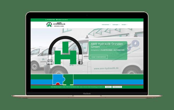 amr-hydraulik.de - Webseite