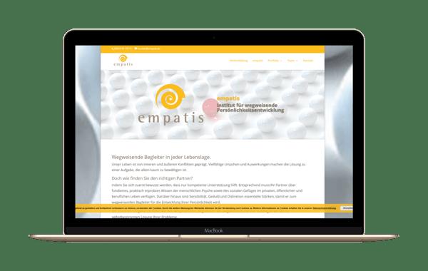 empatis.de - Webseite