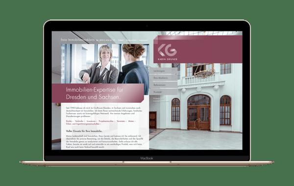 karin-gruner.de - Webseite