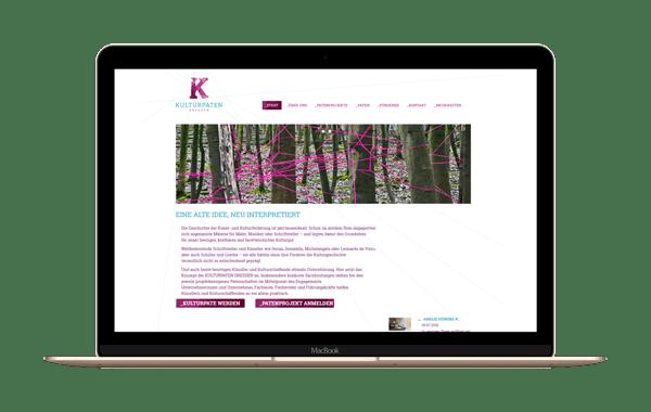 kulturpaten-dresden.de - Webseite