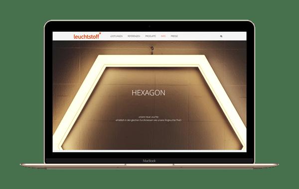 leuchtstoff.de - Webseite