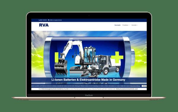 rva-energietechnik.de - Webseite