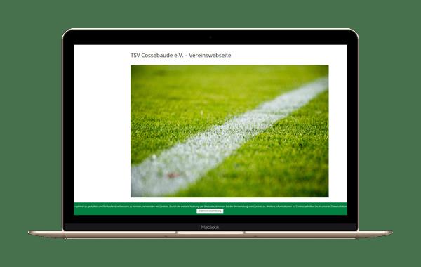 tsv-cossebaude.de - Webseite