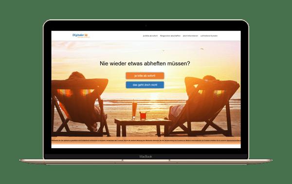 wir-digitalisieren-deinen-versicherungsordner.de - Webseite