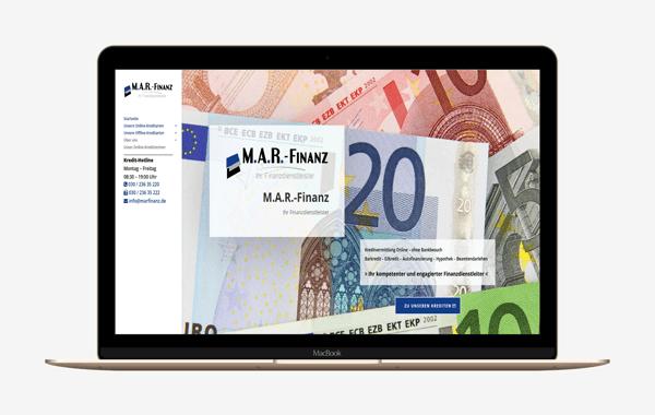 Webseite - marfinanz.de
